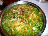 Doa Rossana Cooks Chiken Noodle Soup